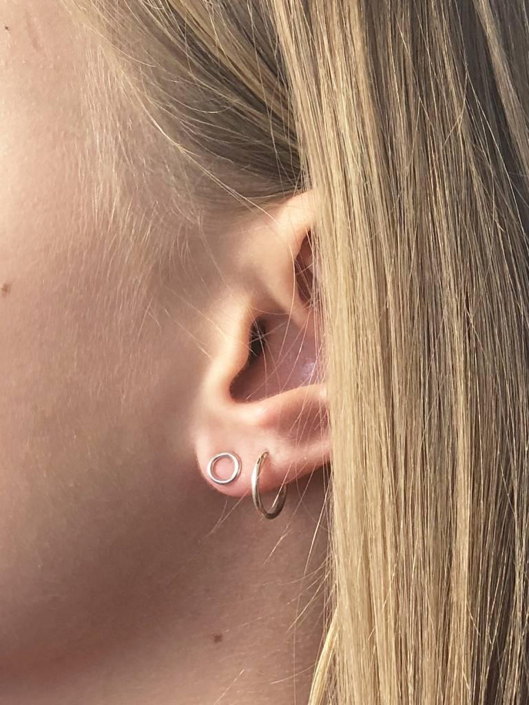 Joboly Joboly Jewelry Earrings Open Circle - Ladies - 925 Silver earrings