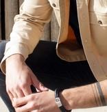 Joboly Joboly Sieraden Multilayer Armband Leer - Heren
