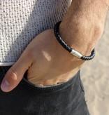 Joboly Joboly Sieraden Armband Leer - Heren