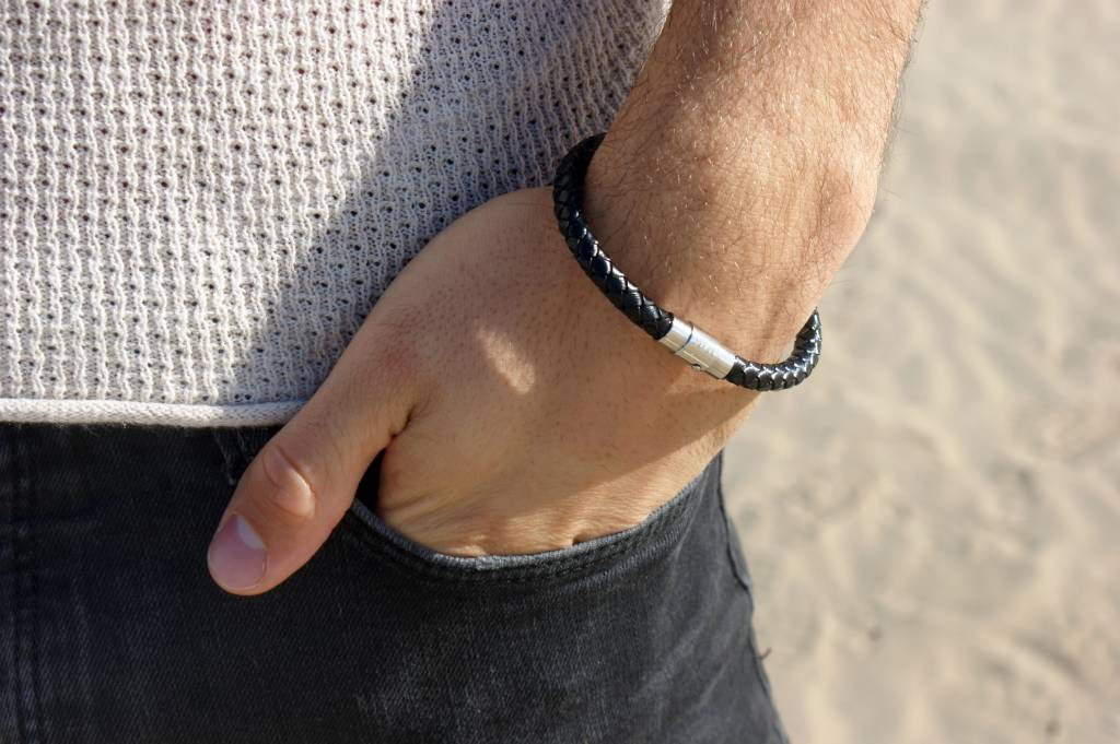 Joboly Joboly Jewelery Bracelet Leather - Gentlemen