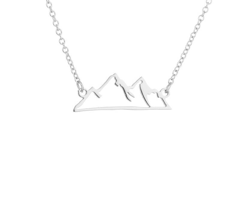 Joboly Berg mountain minimalistische ketting