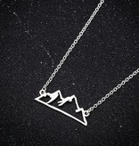 Joboly Mountain mountain minimalist necklace