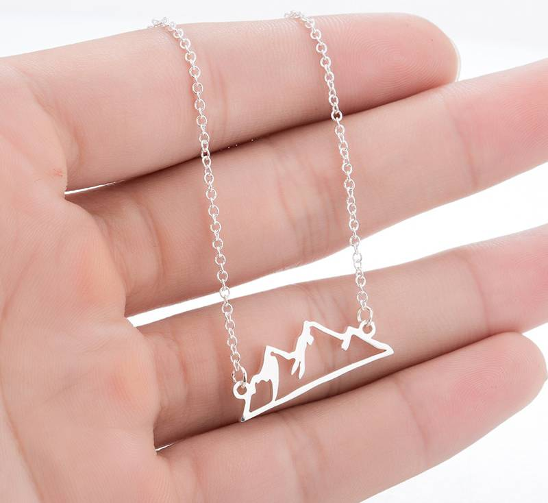 Joboly Berg Berg minimalistischen Halskette