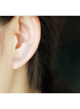 Joboly Trendige Ohrhänger entlang der Ohrleine