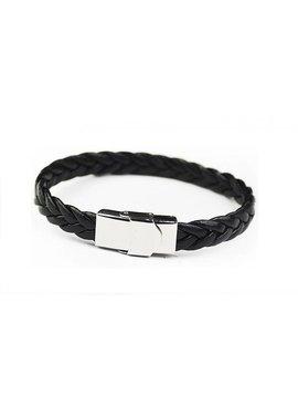 Joboly Tough wide men's men's bracelet braided with convenient closure