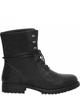 Joboly Tough black biker boots