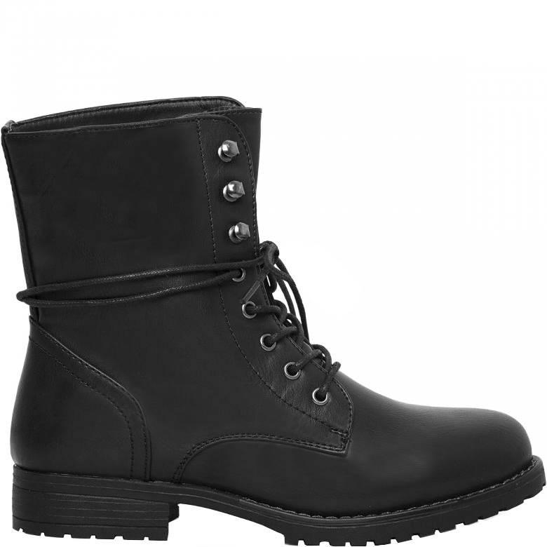 Fonkelnieuw Stoere zwarte biker boots laarzen - Lovelymusthaves | Shop de NS-81