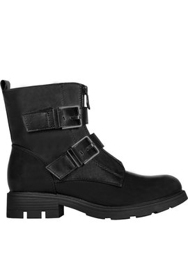 Joboly Stoere zwarte boots laarzen met gesp