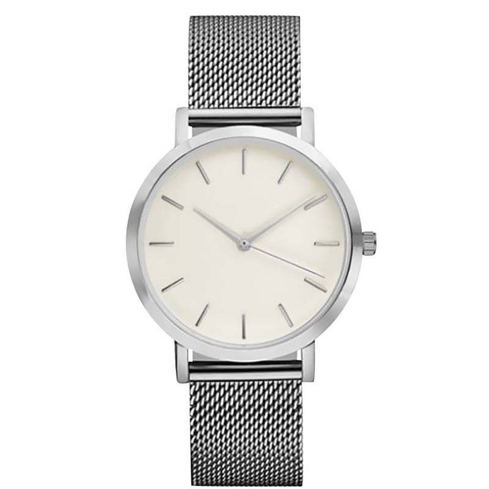 Joboly Vintage mesh watch - steel - Ø 40 mm