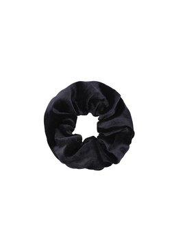 Joboly Scrunchie zwart velvet haarelastiek haarwokkel