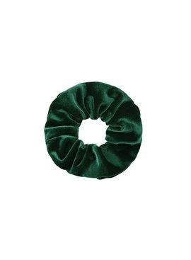 Joboly Scrunchie grünes Haar aus samtigem Haar