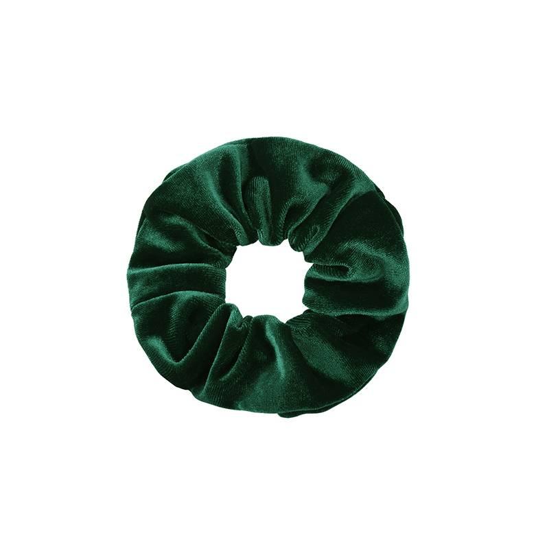 Joboly Scrunchie green velvet hair elastic haircock