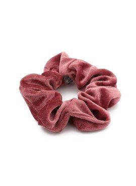 Joboly Scrunchie alter rosa Samthaar elastischer Haarhahn