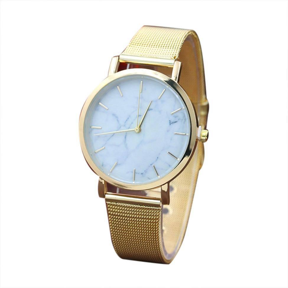 Joboly Vintage marble mesh watch - steel - Ø 38 mm