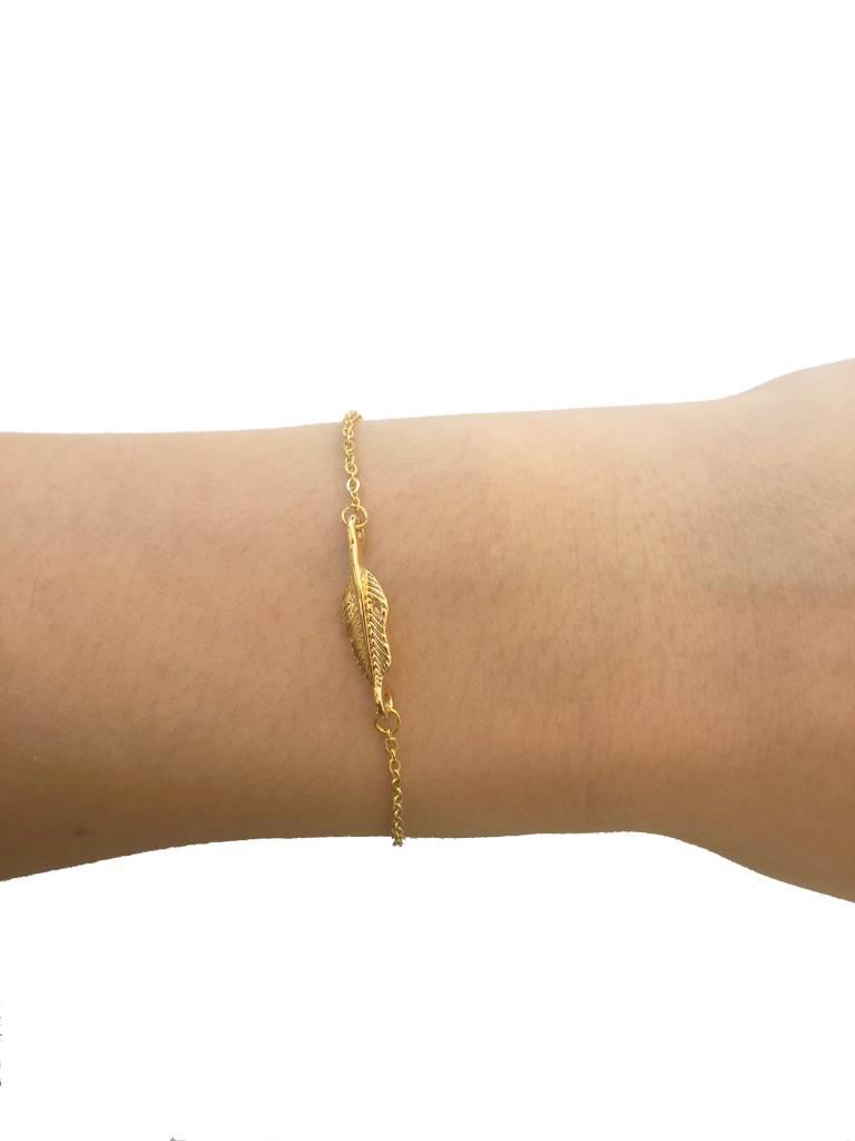 Joboly Leaf bulb leaf plant trendy bracelet
