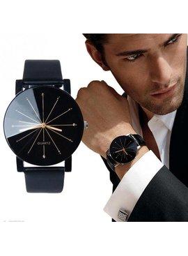 Joboly Black quartz tough watch - Ø 40mm
