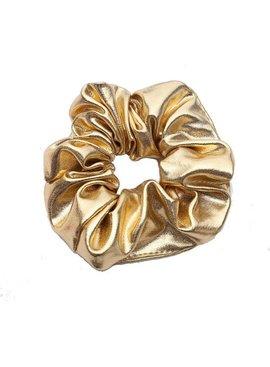 Joboly Scrunchie goudkleurig haarelastiek haarwokkel