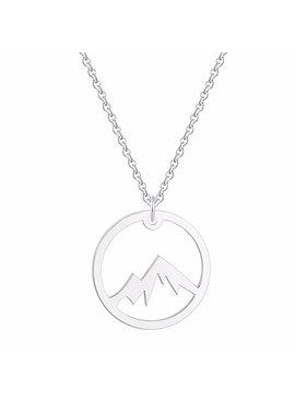 Joboly Mountain coin necklace