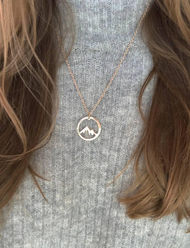 Joboly Bergmünze Halskette
