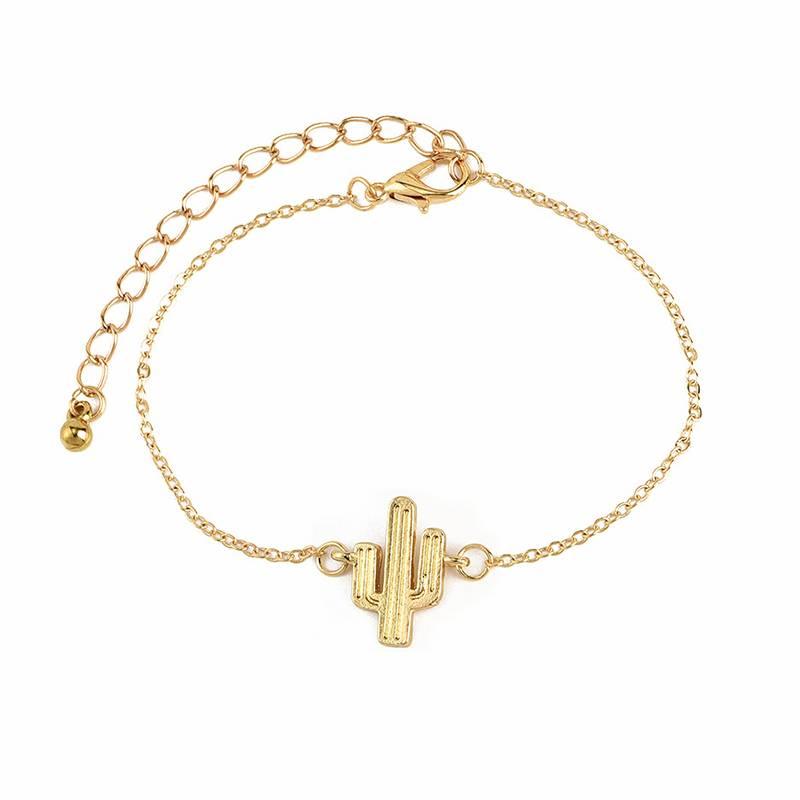 Joboly Set Armbänder Knoten Kaktus Liebe und Pfeil 4 Stück