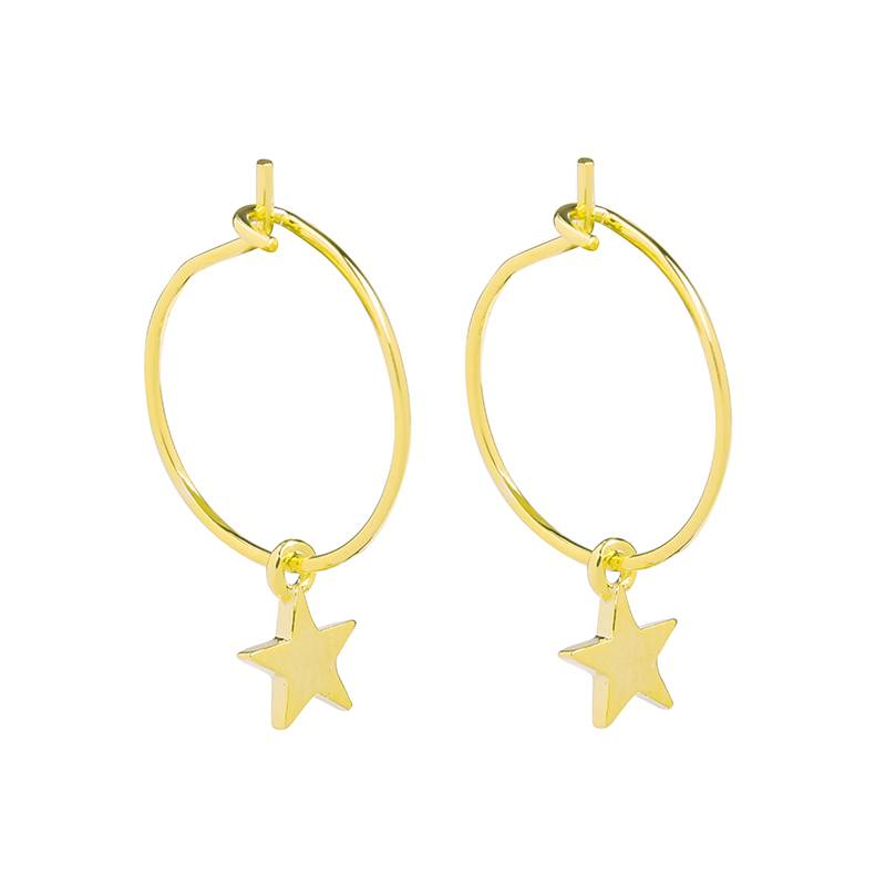 Joboly Earrings with a star