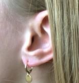 Joboly Ohrringe mit einer Münze