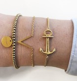 Joboly Minimalistisches dezentes V-Form-Armband