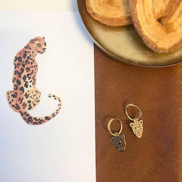 Joboly Leopard-Ohrringe