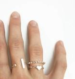 Joboly Bar minimalistic ring adjustable