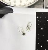 Joboly Minimalist earrings with star pendant