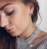 Joboly Lotus flower earrings