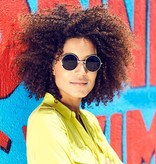Joboly Runde Hippie-Sonnenbrille John Lennon / Gabber Retro