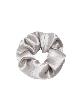 Joboly Scrunchie gray velvet elastic hair curl