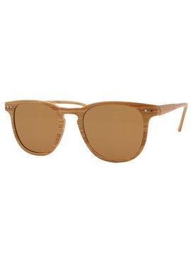 Joboly Wayfarer festival sunglasses wood look