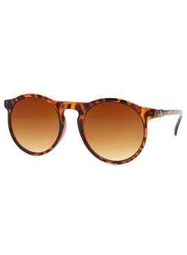Joboly Round sunglasses tiger leopard print