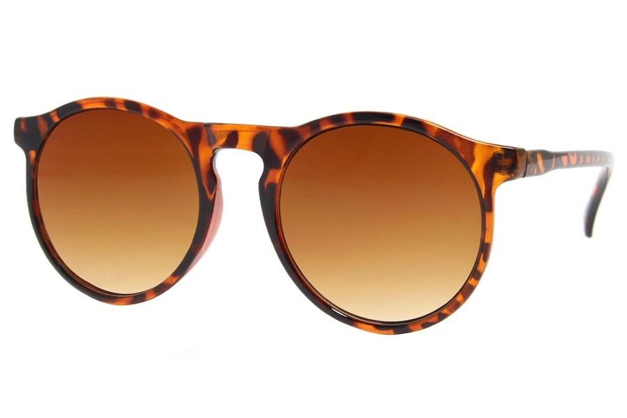 Joboly Runde Sonnenbrille Tiger Leopard Print
