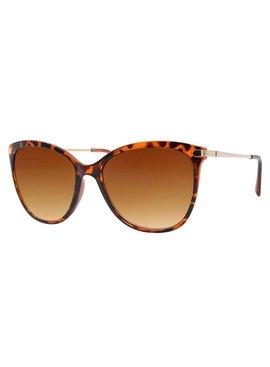 Joboly Cat Eye Festival Sonnenbrillen-Tigerfaultieraufdruck