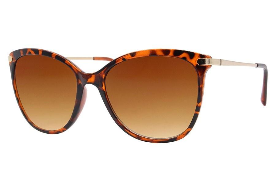 Joboly Cat eye festival zonnebril tijger luiaard print