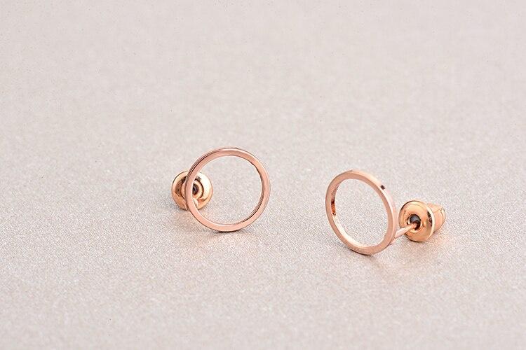 Joboly Trendy minimalist open circle earrings