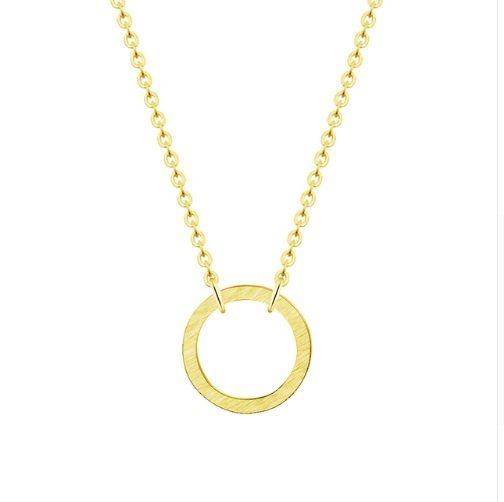 Joboly Cirkel minimalistische ketting