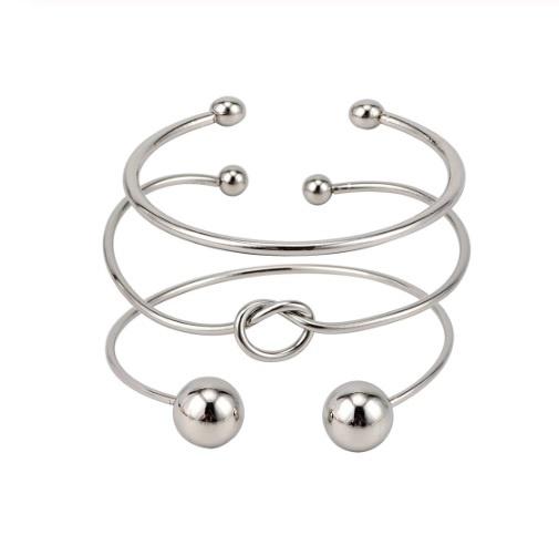 Joboly Set Armbänder Button Knot Bälle 3 Teile