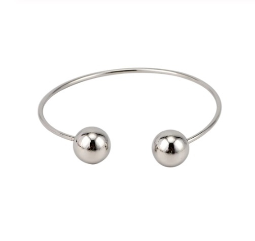 Joboly Set of bracelets button knot balls 3 parts