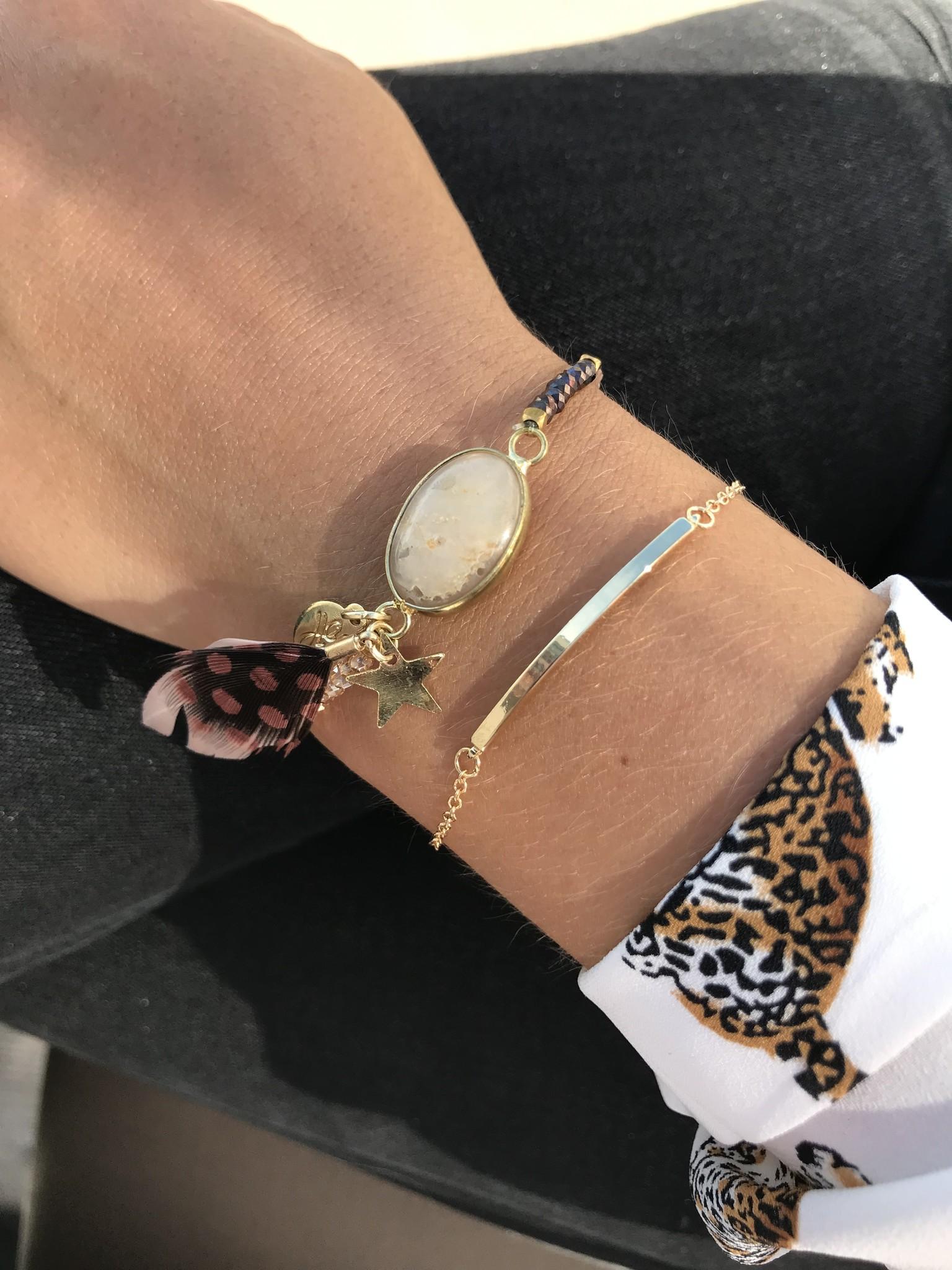 Joboly Bar minimalistische platte armband