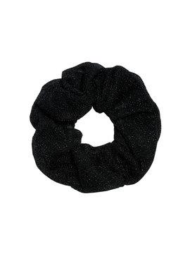 Joboly Scrunchie black glitter hair elastic haircock