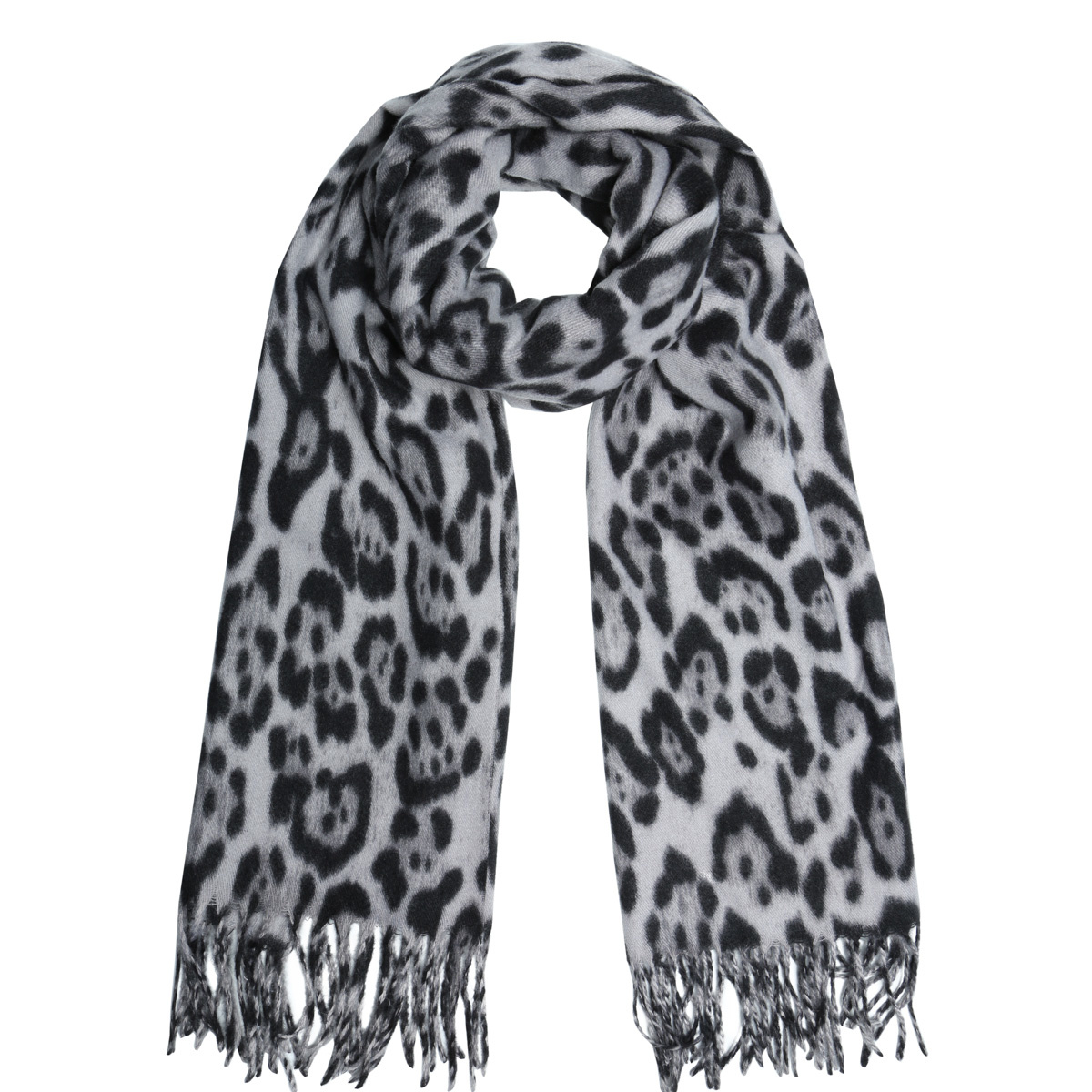 Joboly Scarf leopard print