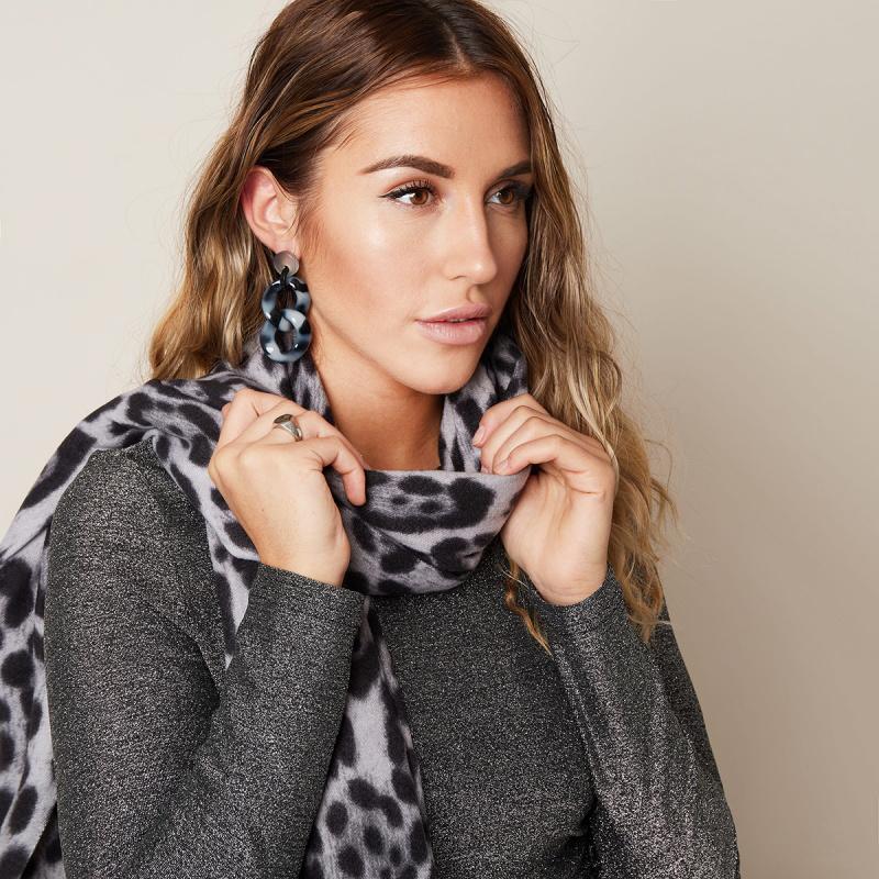Joboly Sjaal Luipaardprint