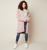 Joboly Faux fur pink jacket