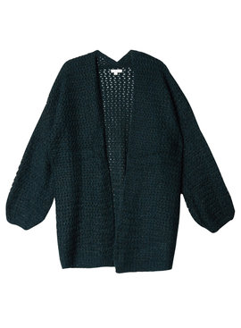 Joboly Green knitted cardigan