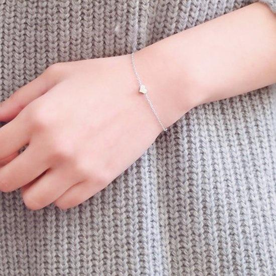 Joboly Jewelry bracelet heart heart heart love subtly minimalistic