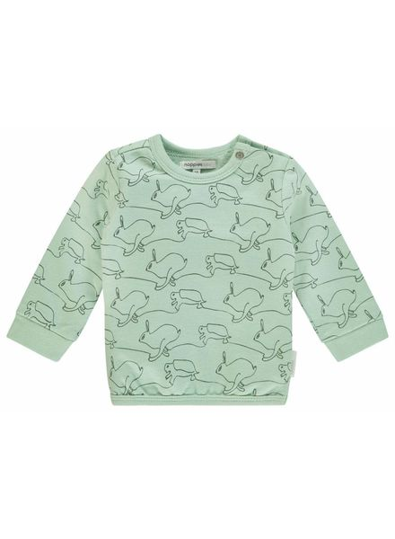 noppies Sweater 84513 grey mint